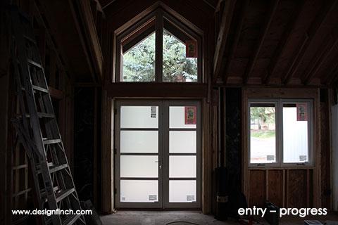 Design finch for Front doors that let in light