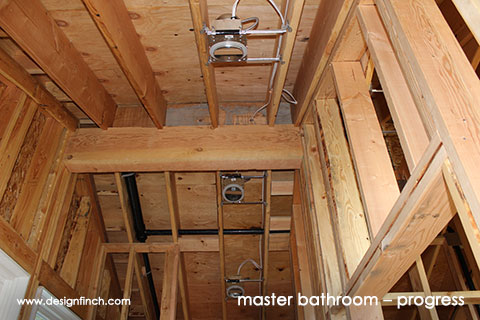 Home Remodel – Bathroom Recessed Lighting
