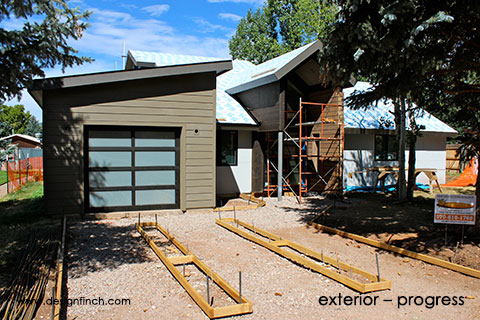 Home Remodel – Exterior Progress
