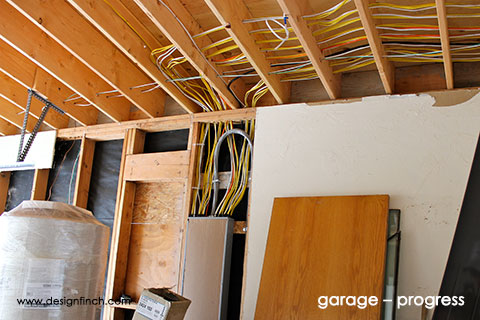 Home Remodel – Garage Progress
