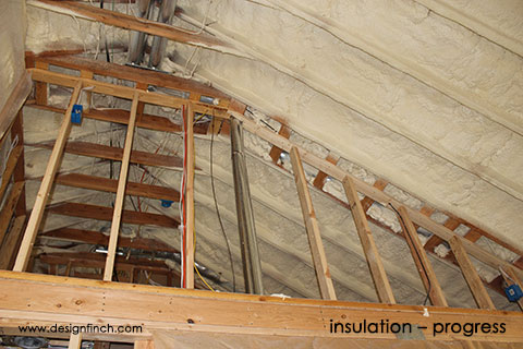 Home Remodel – Insulation Progress