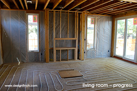 Home Remodel – Living Room Progress