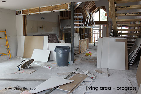 Home Remodel – Interior Progress