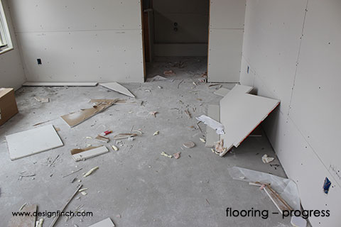 Home Remodel – Flooring Progress